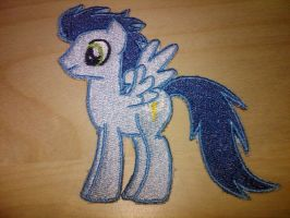 Soarin Embroidery Patch by EthePony