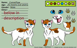 Cometpaw-Ref by danituco