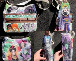 Custom Doodle Bag Villians by whyamitheconvict