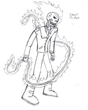 Ghost Rider touch-up by Fantasy-Knight