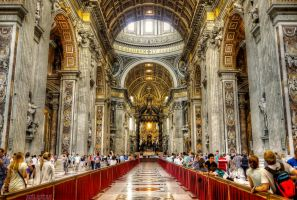 St. Peter's Basilica by valiunic