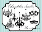 Chandelier brushes by aniieesdreams