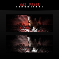 Max Payne signature by ren-g