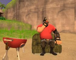 BBQ time whit Cpt. Heavy by Speavy