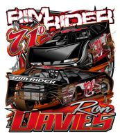 Dirt Late Model Driver Tee by Bmart333