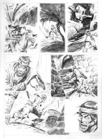 ESCAPE TO MADNESS pencils 05 by benitogallego
