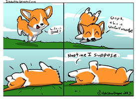 Ichabod the Optimist Canine #1 by AylaStarDragon
