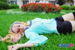 Sheryl Nome in the garden by DihAyala