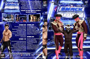 WWE SmackDown October 2013 DVD Cover by Chirantha