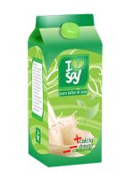 """Soy milk packaging """"Natural"""" by light-insight"""