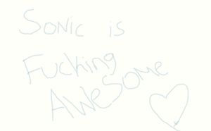 Sonic is awesome by sonicthehedgehog1345