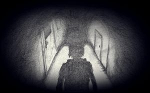 Among empty corridors... by AtEternitysGate