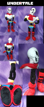 Undertale The Great Papyrus Plushie by Skeleion