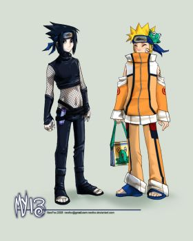 My 13 outfits - Naruto by neofox