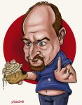 Louis C.K by CaricaturEd
