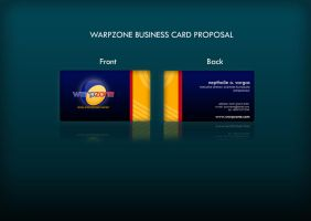 Warpzone Business Cards by Noah0207
