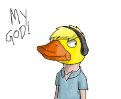 PewDieDuck by Koala-Sam
