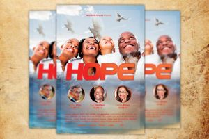 Hope Church Flyer Template by loswl