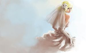 Runaway Bride by sniftpiglet