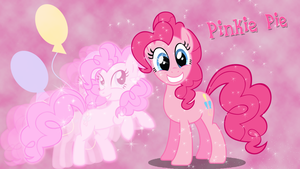 Pinkie Pie Wallpaper by PandFStudios