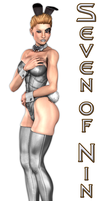 Seven of Nine Bunny by Idelacio