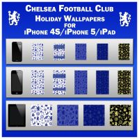 Chelsea Holiday Wallpaper (iPhone 4S, 5  and iPad) by TMacAG