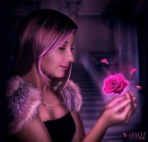Beauty and the rose by guibzz