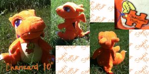 Charizard Plush by CoffeeCupPup