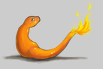 Lil Charmander by TheSplashingMAGIKARP