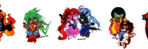 The Little Godlings by suzux