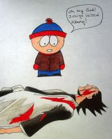 Ichigo Killed Kenny colored by Keyoko-Katara