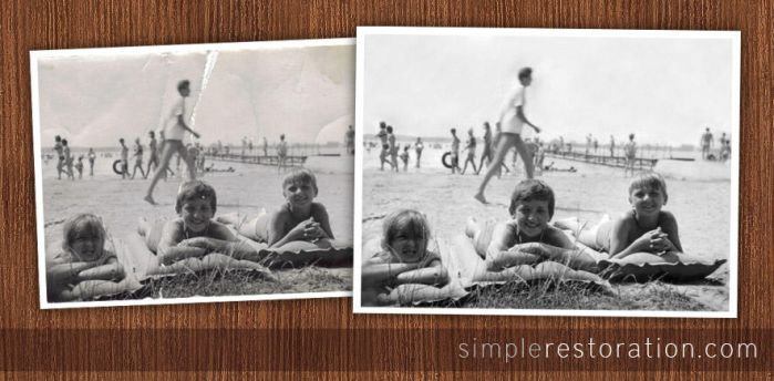 Old and damaged Photo Repair 5 by SimpleRetouch