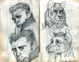 sketches by TheKunterbunter