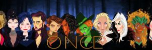 Once Upon A Time's Villains by DadoSuperstar90
