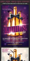 Ladies Night/Bachelorette Party Flyer Template by Hotpindesigns