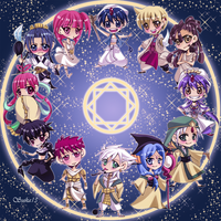 Magi: Clock Design by YummySuika