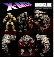 CUSTOM ROCKSLIDE X-MEN by STANJOKER
