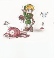 link's heart loss by twilight1236