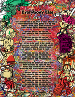 Everybody Else - Magazine Page by HiguchiPhoenix