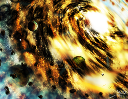 Haste in Direction Opposite Detonating Gas Sphere by Randomman187