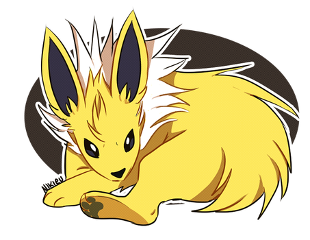 + Jolteon + by Nikieu