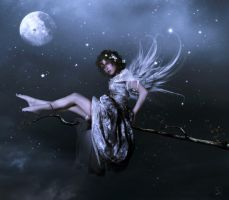 the fairy moon by JenaDellaGrottaglia