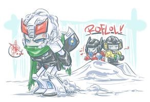 TF: ALSDKGS--Snowballs by DoodleWEE
