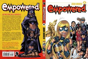 EMPOWERED 4 front + back cover by AdamWarren