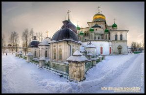 New Jerusalem Monastery by ANDGYBEssO