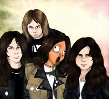 Kreator........in my mind by zombiepencil