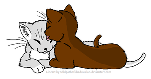 Wolfpaw and Briarpaw by Princess-Moony