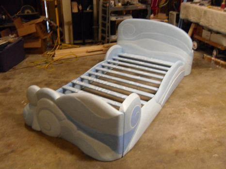 Rainbow Dash Bed Part XI Paint by ColdCalzone