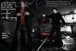 Spiderman and Blackheart - In My Closet by DeathsFugitive