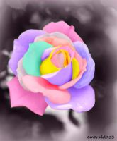 Pastel Rose by theresahelmer